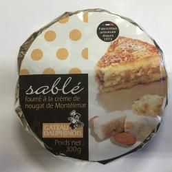 Sablé fourré à la crème de Nougat de Montélimar - 300 g