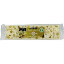 Barre de nougat tendre au Gingembre  et aux amandes - 100 g