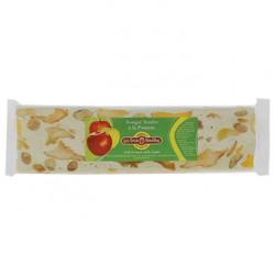 Barre de nougat tendre à la pomme et aux amandes