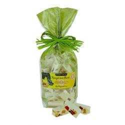 Sac de dominos de nougat tendre aux fruits exotiques - 150 g