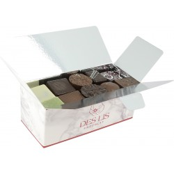 Ballotin de chocolats assortis sans alcool- 500 g