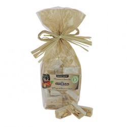 Sachet de dominos de nougat tendre au marrons - 150 g