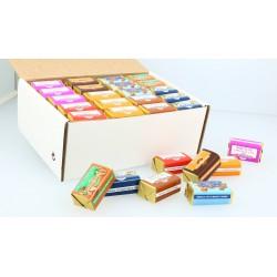 Boîte de 80 Chocolats assortis au nougat tendre (8 parfums)
