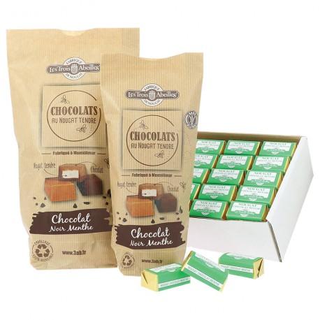 Chocolat Noir Menthe au Nougat de Montélimar Tendre