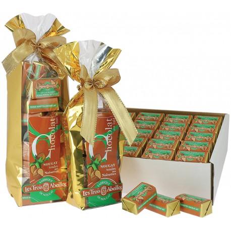 Chocolat Lait au Nougat tendre aux Noisettes