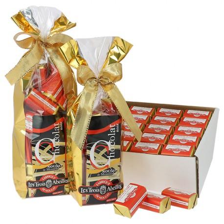 Chocolat Noir au Nougat de Montélimar tendre