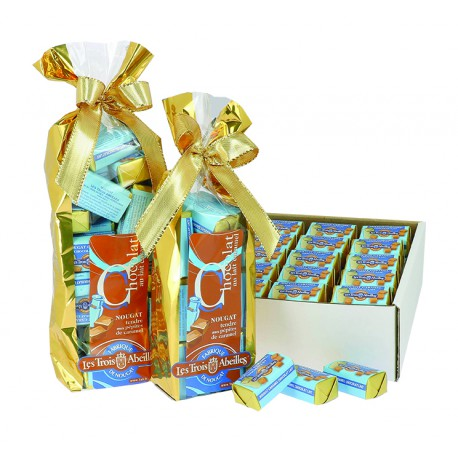 Chocolat Lait Caramel au Nougat au Caramel